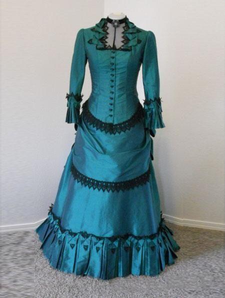 wholesale gothic victorian wedding dress
