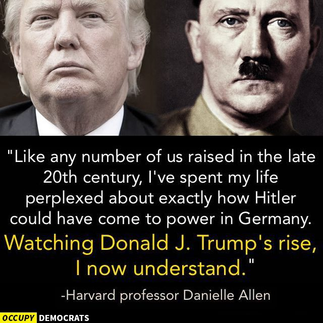 Yep.  Hitler didn't start off saying he was going to kill millions of jews, gays, gypsies, people with birth defects and so on.  No, first his political party slandered those groups, and then belittled them, then they were vilified and the citizens who were filled with hate dew nearer and nearer to Hitler.  Only later did concentration camps and genocides arrive...