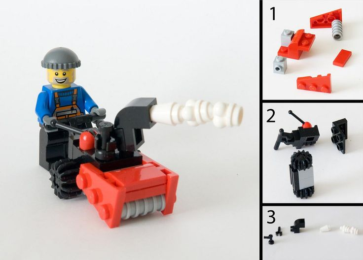 Snowblower LEGO Instructions!