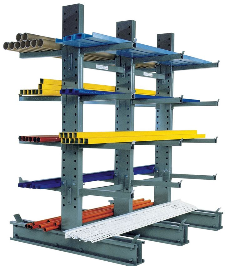 Warehouse Layout - cantilever racks and special storage needs