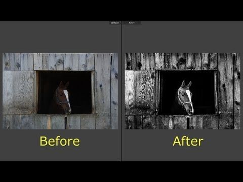 Learn Lightroom 5 - Part 16: Create a Dramatic B&W Image