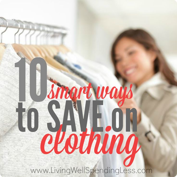 10 Smart Ways to Save on Clothing| How to Save Money on Clothes