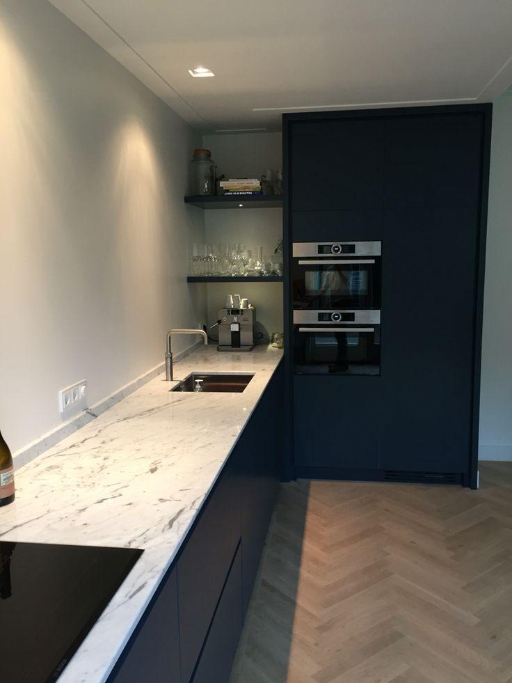 Opmaat gemaakte keuken door www.maekmeubels.nl