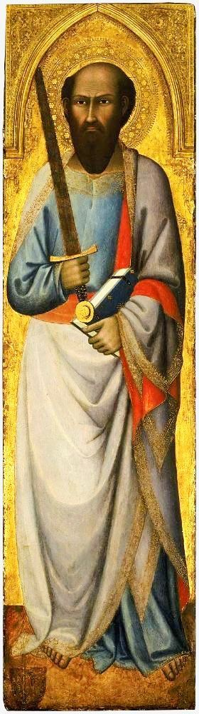 * St Paul * (by Andrea Vanni, * 1332 - 1414).