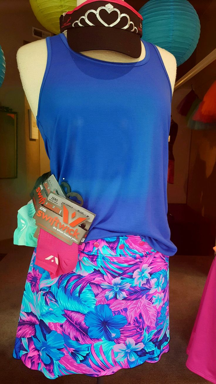 This Sweet Spot skirt and Running Princess tank is all you need to kick off the sunny days and warm summer nights. Find it at runningprincess.com or at our store in downtown Corvalls, Oregon.