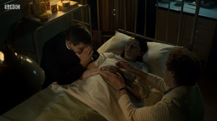 Call the Midwife Series 7 episode 7 - nurse Barbara was surrounded by her husband and beloved friend Phyllis at the end.. very sad storyline.. 😢  Actress Charlotte Ritchie decided to quit the role after four years of playing the gentle nurse. Meningococcal Septicaemia storyline.