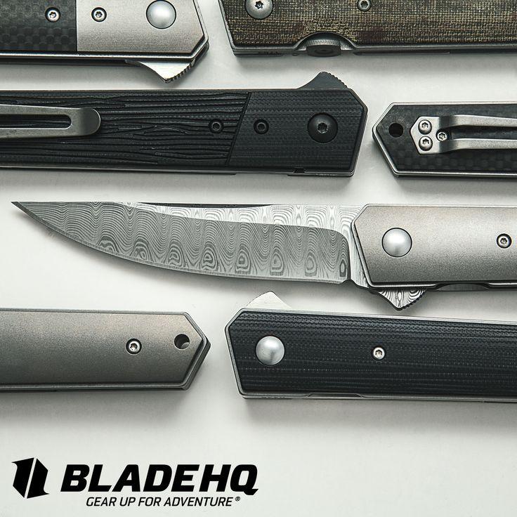 A Handful of Boker Kwaiken Folding Knives