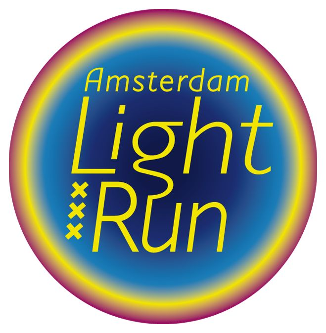 restyling the logo of Amsterdam Light R un was fun to do, thanks to Monir Daniels.