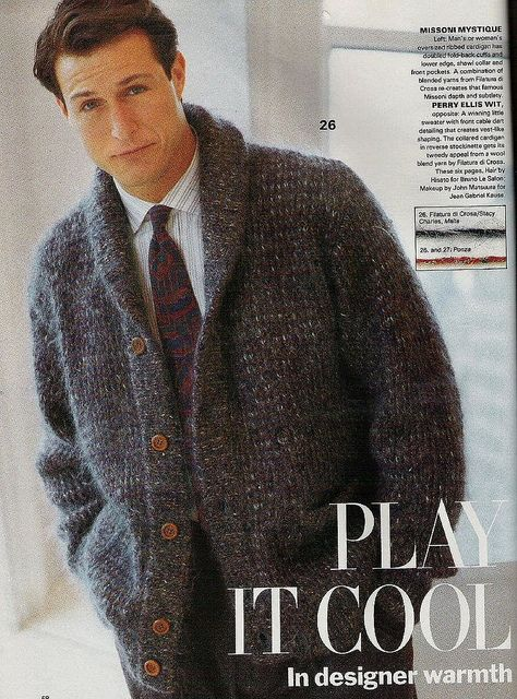 1000 Images About Knitting Patterns Mens On Pinterest