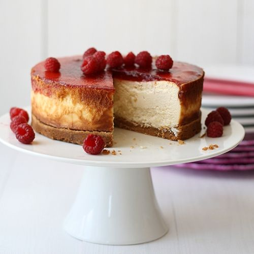 Raspberry cheesecake (featured)