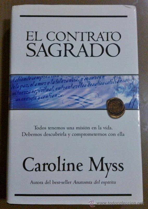 el contrato sagrado (de caroline myss) javier v | 40939089