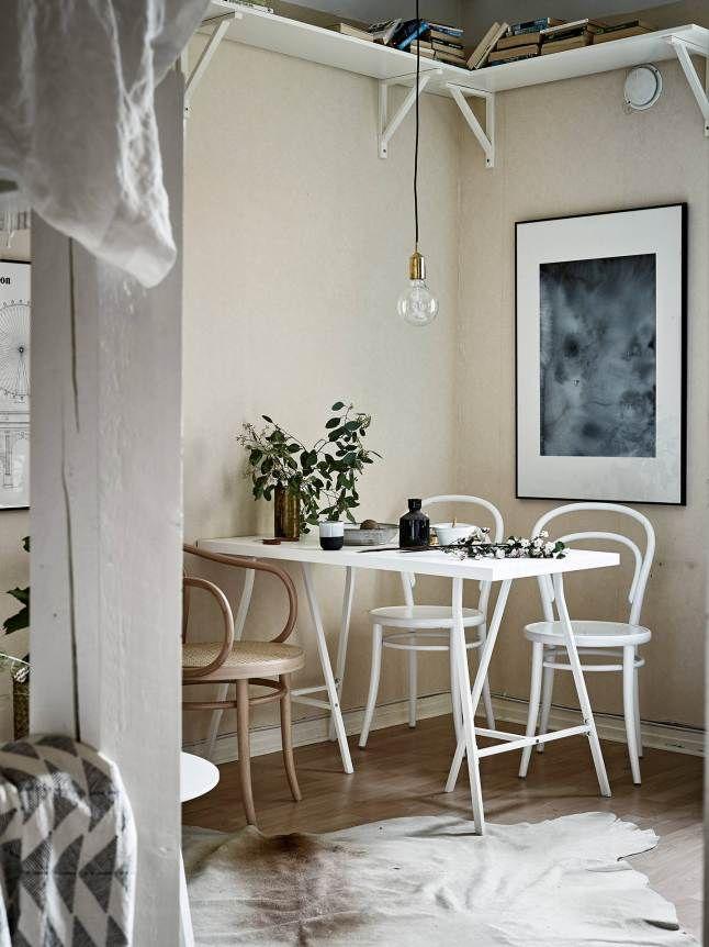 Like a nest | Stadshem, Sweden / photo: Janne Olander | via Planeté Decó