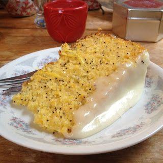 Sophie Likes Cake: Orange and Lemon Polenta Poppy Seed Cake. Gluten free!!