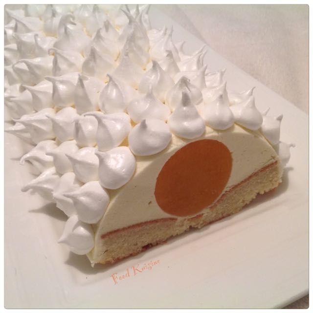 Bûche chocolat blanc clémentine, Recette de Bûche chocolat blanc clémentine par Sev&Will - Food Reporter