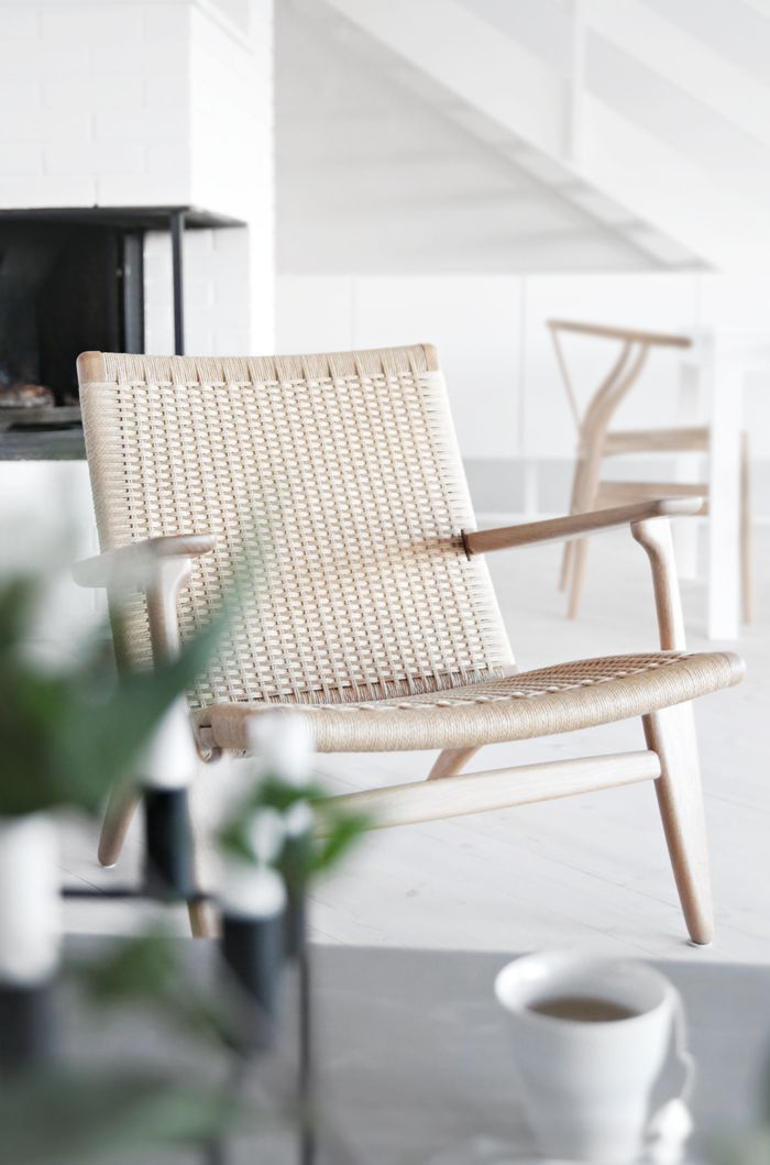 urbnite - Easy Chair by Hans Wegner