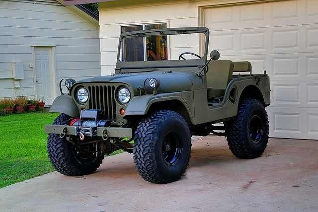 Old School Mil Style Jeep                                                                                                                                                                                 More