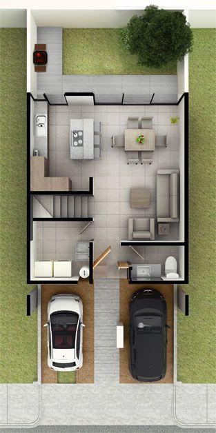 Casas en Zibatá Querétaro - Modelo Jiva – antaliaresidencial.com