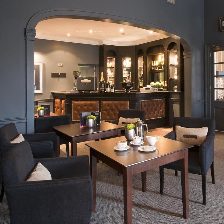The Roxburghe Hotel, Edinburgh, Georgian Building, Blue interior, Stylish Interior, Occa Design, Interior Design, Hotel Design, bar design