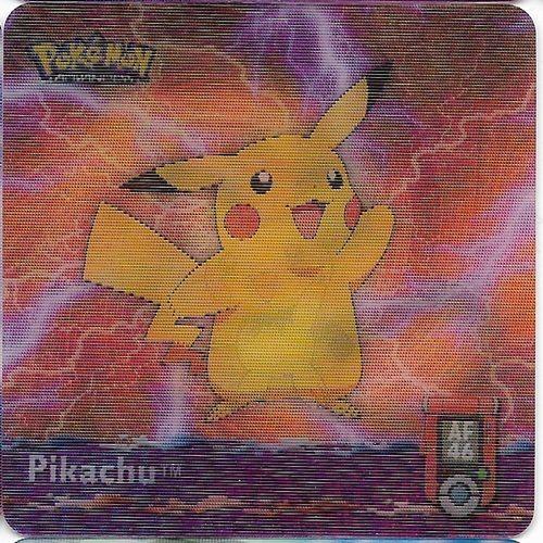 Pokemon Pichu Pikachu Raichu Action Flipz - Pokemon Advanced Series Artbox 5262-46