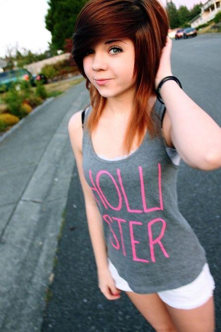 Pleasant 1000 Images About Hair Cuts On Pinterest Emo Hairstyles Medium Short Hairstyles Gunalazisus