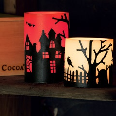 All Hallows' Eve Luminaires - Olive & Cocoa