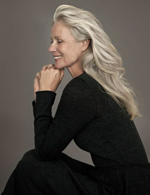 This is how I wish I could look at 60 something. Graceful and stylish - so much more than clothes.  Pia Gronning, Danish film actor, at 60-something