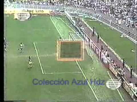 Cruz Azul 2 - Pumas 0. Final 78-79 Cruz Azul Campeón - YouTube