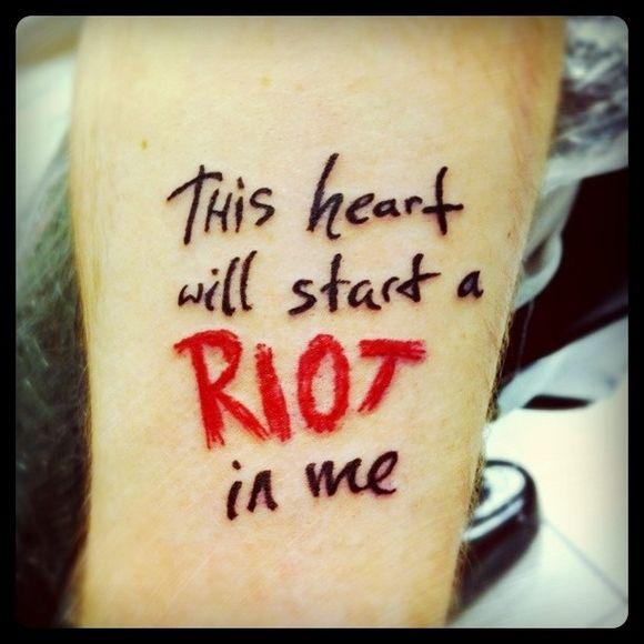 Best 25+ Song Lyric Tattoos Ideas On Pinterest