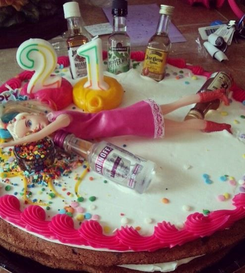 Cookie Cake Designs For 21st Birthday : 1000+ images about Birthday Ideas on Pinterest Cookie ...