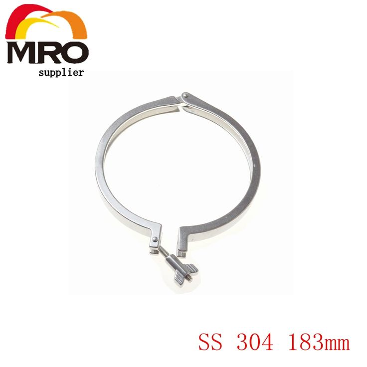 27.00$  Buy now - http://alixh1.shopchina.info/go.php?t=32679430344 - Tri Clamp Clover Sanitary Fits 183mm OD Ferrule Flange Stainless Steel SS 304 Heavy Duty Type SS022 27.00$ #magazineonline