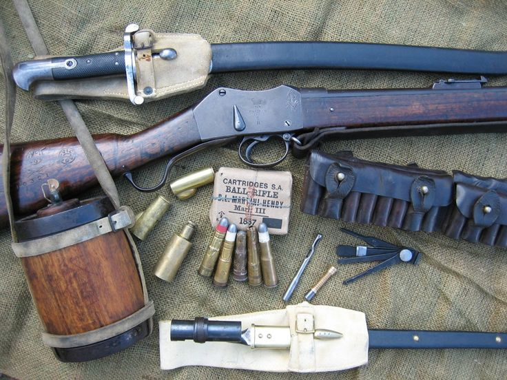 I first fell in love with the Martini Henry from Watching the movie Zulu.  Great Movie and a great weapon!