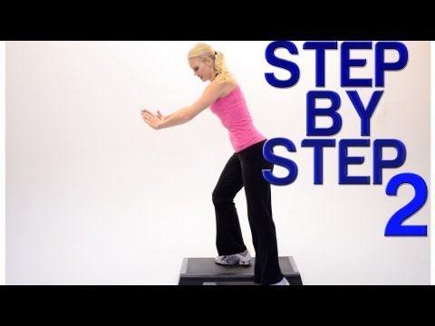 STEP AEROBICS   U0027Step By Step 2u0027   Jenny Ford (40 Mins) · Step  AérobicsStepper WorkoutDorm Room WorkoutExercise VideosWorkout ...