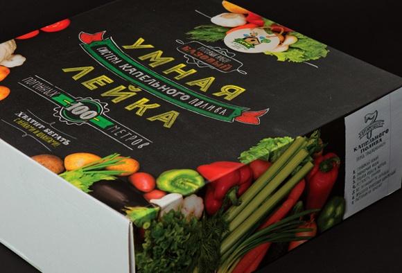 Упаковка садового инвентаря