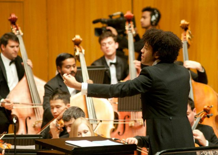 """""""As a part of orchestras, I can remmeber what different conductors said and did and whether it inspired the musicians to play better"""" says Rafael Payare."""