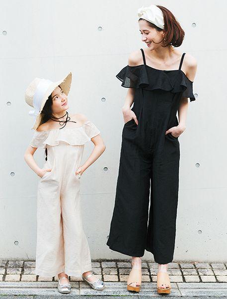 2017 petit main&LIEN Spring&Summer Collection - コーディネート | petit main(プティマイン) 公式通販 - ナルミヤオンライン