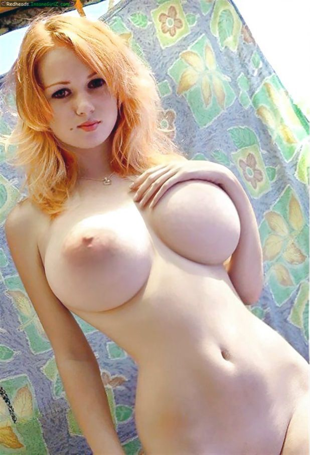 sexy redhead women with big boobs nude