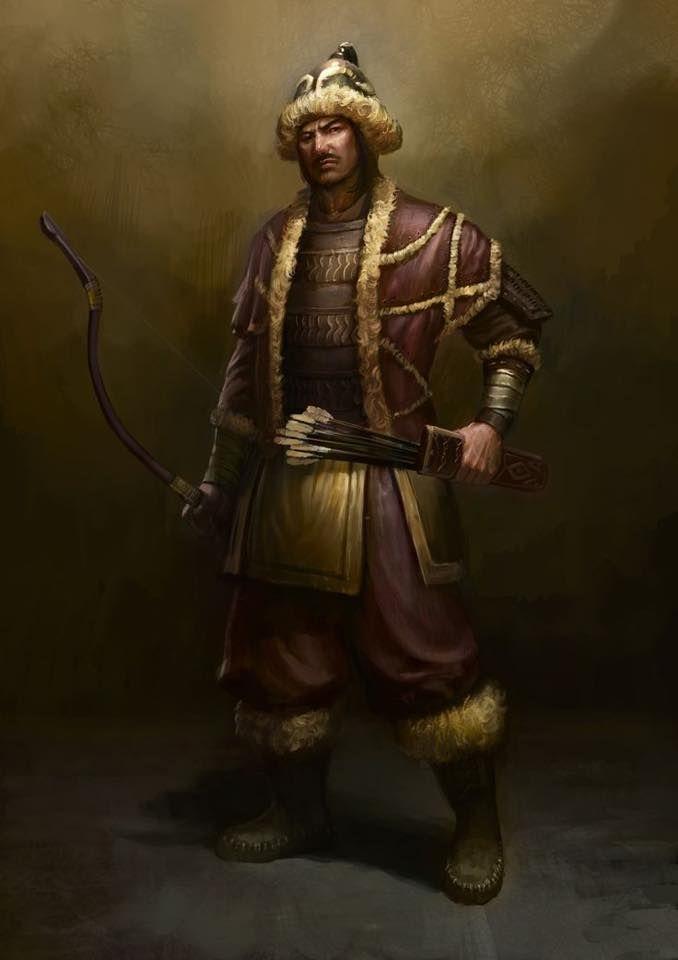 Ancient Turkish Warrior
