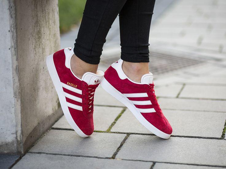 Adidas Gazelle Rojo Una para cada día.