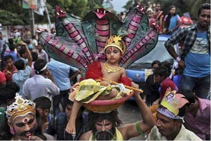 Krishna Ashtami Celebrations in INDIA - ( 10 Photos) - HitFull.com