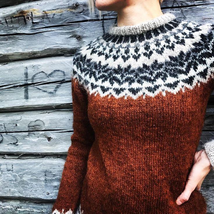 "1,890 synes godt om, 73 kommentarer – @tornedalsfrun på Instagram: ""I ❤️afmaeli #afmæli #lettlopi #icelandicsweater #knit #knitstagram #instaknit #knitting #neulonta…"""