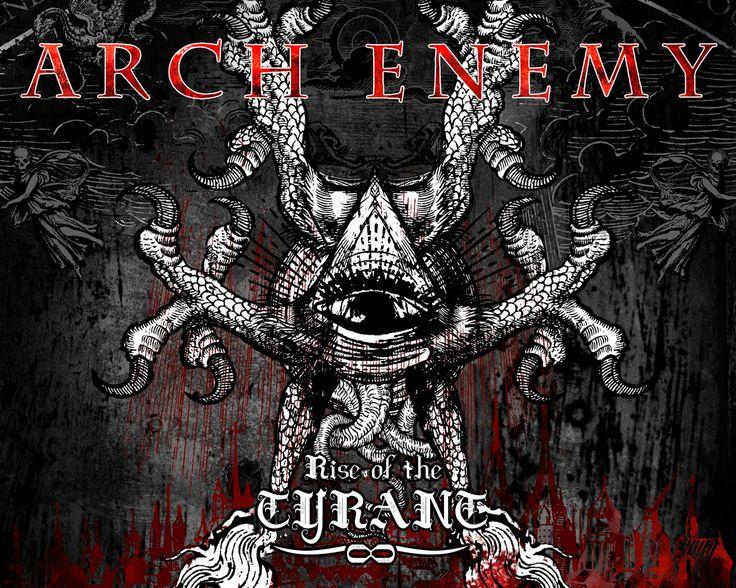 今現在好きなヘビーメタルバンド:  Arch Enemyです。ジャケットがカッコイイ!