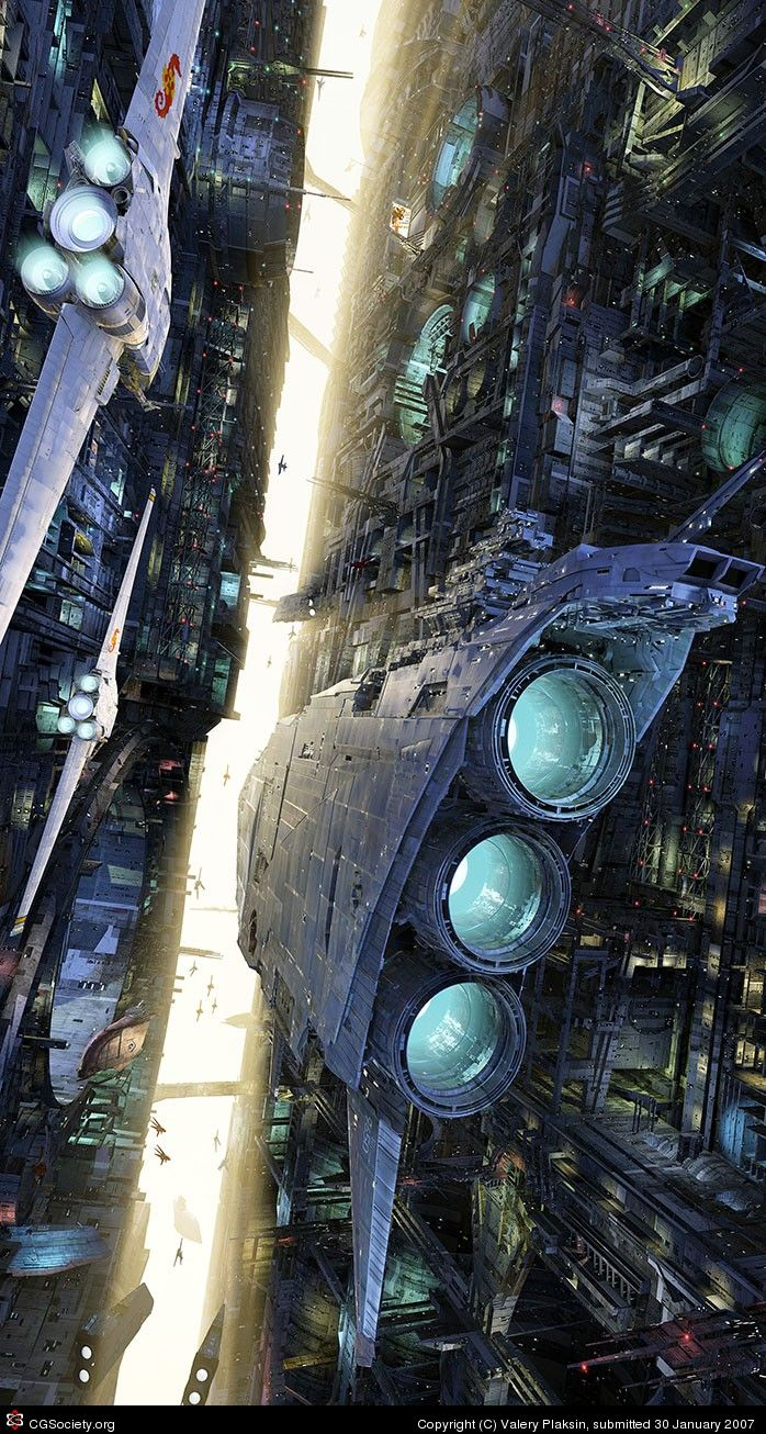 CG society's Eon Challenge - Valery Plaksin