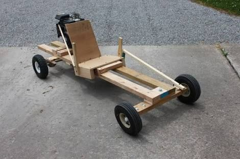 wooden go karts plans - Google Search
