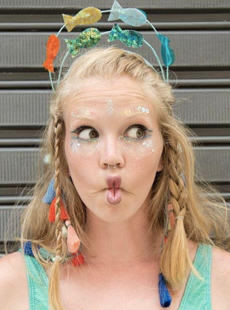 Fantasia de peixinho criativa para fazer em casa e arrasar no carnaval