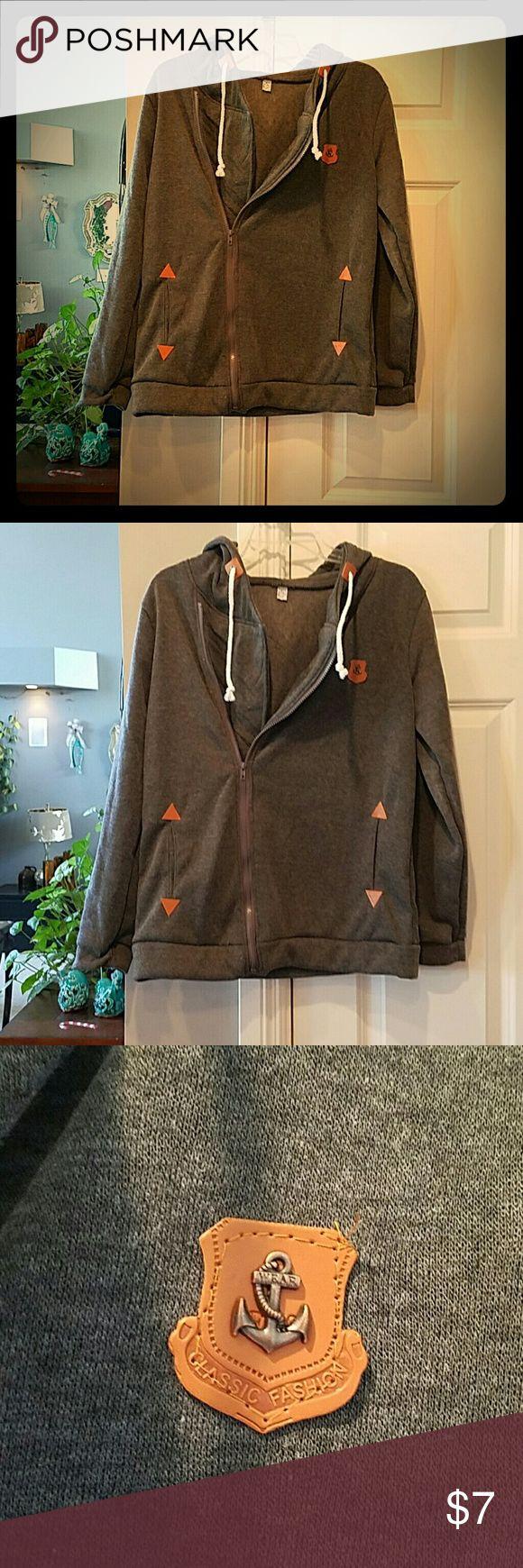 KXUAN/Nautical Theme Womens Hooded sweatshirt BRAND NEW! PERFECT CONDITION! WARM AND COZY AND CUTE ! WOMEN'S MEDIUM. /Large.  KXUAN  #GREATDEAL  #SUPERSOFT  #UWILLLOOKMARV KXUAN  Tops Sweatshirts & Hoodies