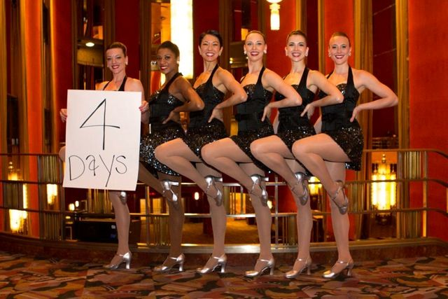 Four more days until the Top 60 America's Got Talent acts hit Radio City Music Hall!