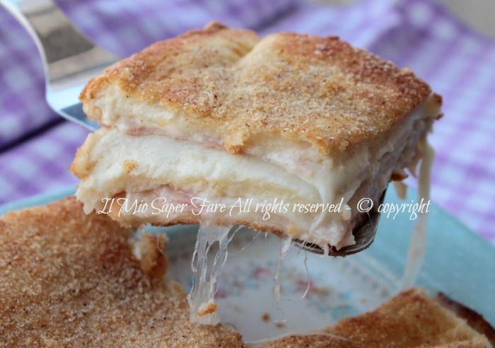 Parmigiana di pancarre torta salata facile ricetta il mio saper fare