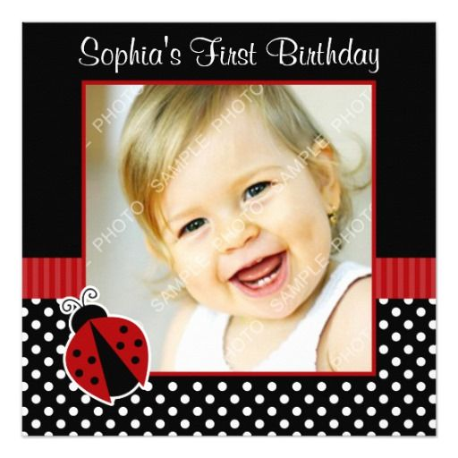 406 best Polka Dot Birthday Party Invitations images – Polka Dot First Birthday Invitations