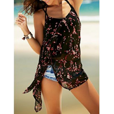 Product Note:Without Any Accessories.SpecificationsProduct DetailsMaterial: Polyester Clothing Length: Long Pattern Type: Floral Style: Fashion Weight: 0.150kg Package Contents: 1 x Tank TopOur SizeBustLength(Back)M37.0119.68L38.5820.08XL40.1620.472XL41.7320.87