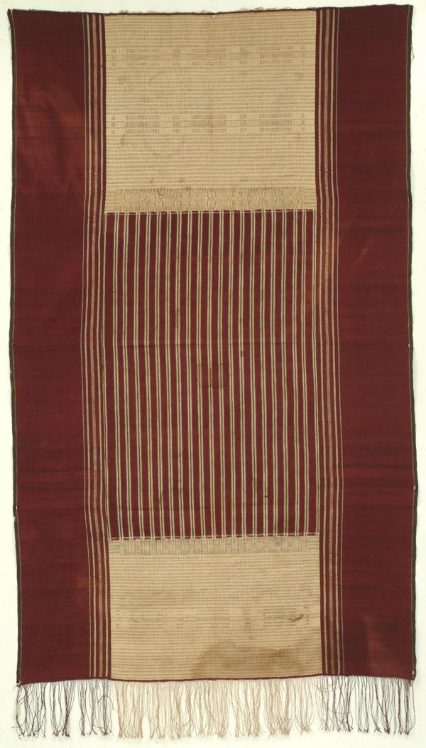 Batak Ritual Cloth (Ulos-Ragidup), Sumatra, Indonesia, 19th C